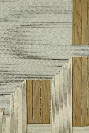 design textile bois et corde
