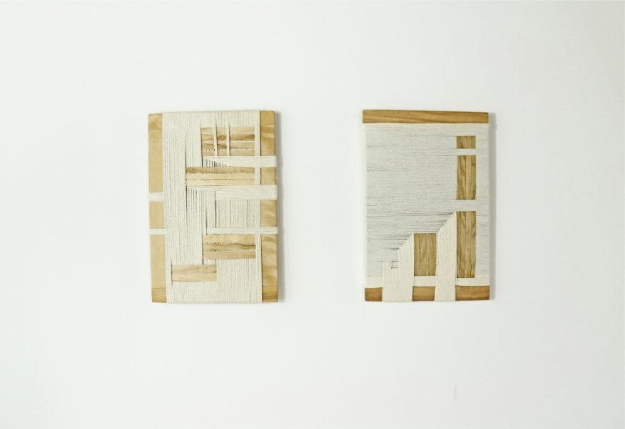 woven work _ cord and wood 1